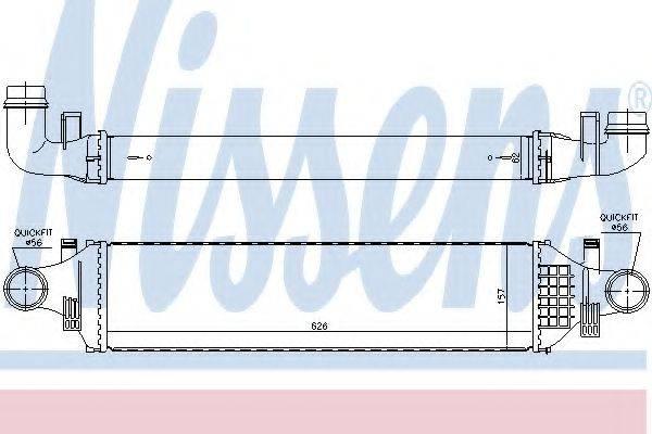 Интеркулер NISSENS 96784