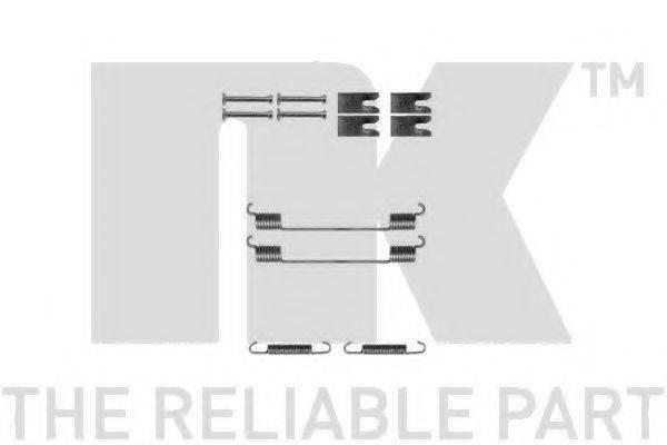 Комплектующие, тормозная колодка NK 7925814