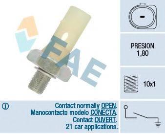Датчик давления масла FAE 12883