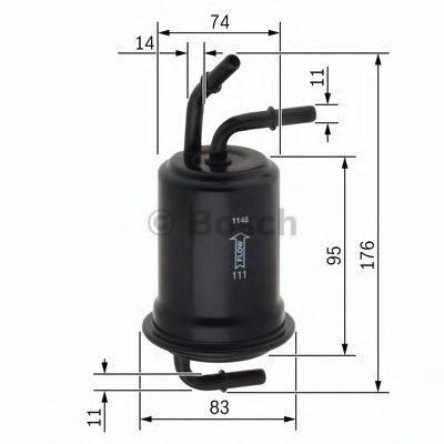 Топливный фильтр BOSCH F 026 403 012